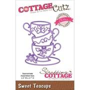 "CottageCutz® Elites 2.7"" x 2.3"" Universal Thin Die, Sweet Teacups"