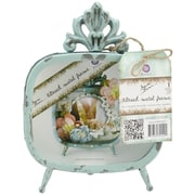 "Prima Marketing™ Ornate With Legs Altered Metal Frame, 9"" x 7 3/4"""
