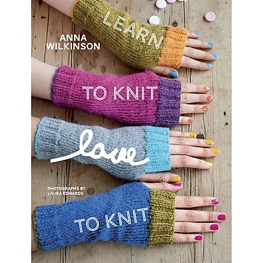 Random House Learn To Knit, Love To Knit Potter Craft Book