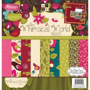 """Diecuts With A View® 12"""" x 12"""" Paper Stack, Whimsical"""