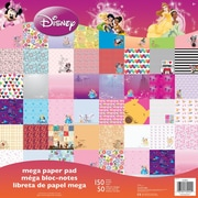 "Sandylion® 12"" x 12"" Mega Paper Pad, Disney Girl"
