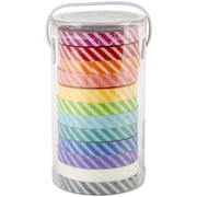 "Doodlebug™ 1/4"" Wash Tape Candy Stripe, Assorted"