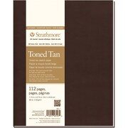 "Strathmore® 7 3/4"" x 9 3/4"" Softcover Art Journal, Toned Sketch"