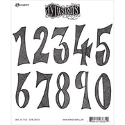 "Tim Holtz® Ranger 8 1/2"" x 7"" Dylusions Cling Rubber Stamp Collections, One In Ten"
