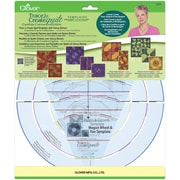 Clover Trace 'N Create Quilt Carefree Curves Collection Template