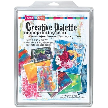 Stampendous® Creative Palette Monoprinting Plate, 8 1/4