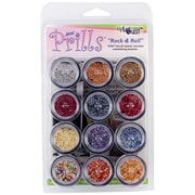 USARTQUEST Mini Prills Rock N' Roll 3 g Bead Accents, 12/Pack