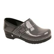 Sanita Footwear Leather Lindsey Clog Steel, 11.5-12