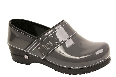 Sanita Footwear Leather Lindsey Clog Steel, 11.5-12