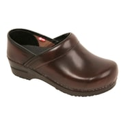 Sanita Footwear Leather Professional Men's Cabrio Clog