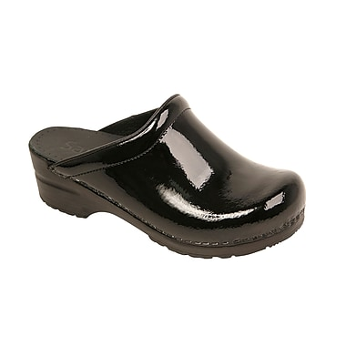 Sanita Footwear Women's Sonja Clog Black, 4.5 - 5
