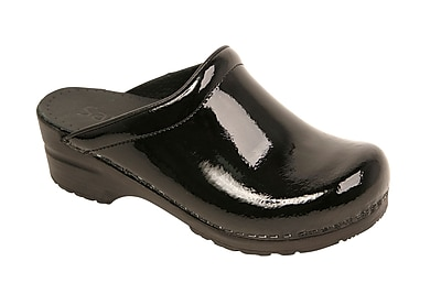 Sanita Footwear Women's Sonja Clog Black, 6.5 - 7