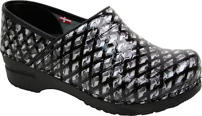 Sanita Footwear Leather Women's Professional Dory Mule, 12.5 - 13