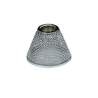Tiella 3.3'' Metal Bell Pendant Shade; Satin Nickel