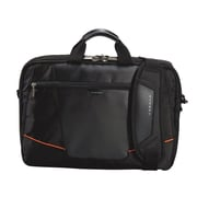 Everki Leather Exterior Flight Checkpoint Friendly Laptop Bag/Briefcase 16""
