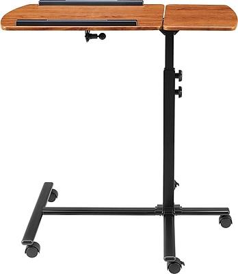 Altra Jacob Laptop Cart, Cherry/Black