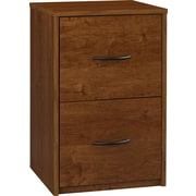 Ameriwood Industries Bank 2 Drawer Vertical File, Brown,Letter, 15.56''W (9524301PCOM)
