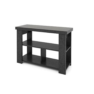 Ameriwood Hollow Core Wood/Veneer Console Table, Black, Each (5189026PCOM)