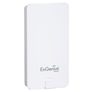 EnGenius® ENS500 5 GHz Wireless-N Outdoor Client Bridge, 300 Mbps