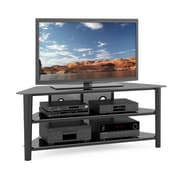 Corliving - Supports de téléviseur, bois de placage Alturas, Tal-604-T