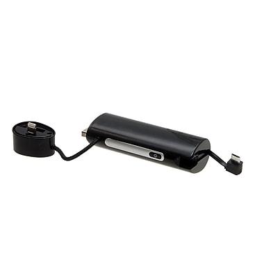 LifeCharge – Poste d'alimentation JuicyBar 2600 mAh pour Apple MFI, noir