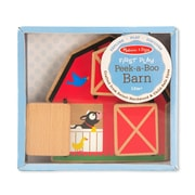 "Melissa & Doug Wood Peek-a-Boo 7"" x 6"""