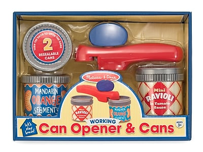 Melissa & Doug Let's Play House Can Opener and Cans