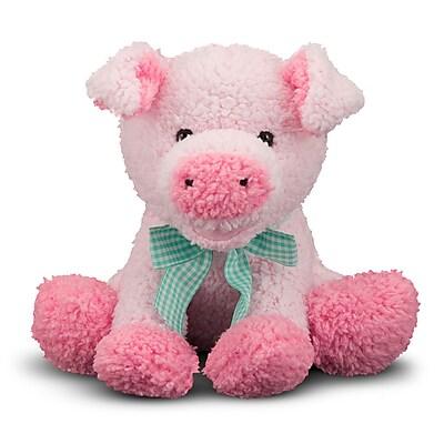 Melissa & Doug Princess Soft Toys Meadow Medley Piggy Poly Fab