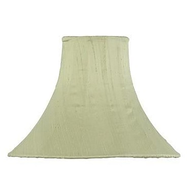 Jubilee Collection 10.25'' Silk Bell Lamp Shade; Light Green