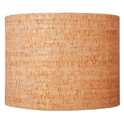 Ziqi Home 13'' Natural Cork Drum Lamp Shade