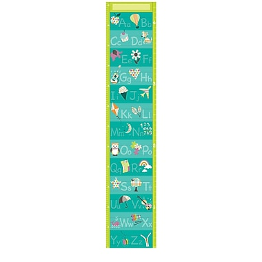 WallPops! Wall Art Kit Alphabet Growth Chart