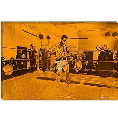 iCanvas Muhammad Ali in Training Photographic Print on Canvas; 12'' H x 18'' W x 1.5'' D