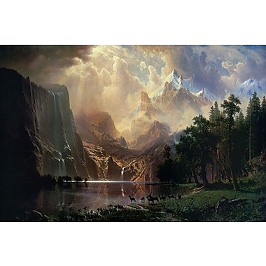 iCanvas Among Sierra Nevada In California by Albert Bierstadt Photographic Print on Canvas