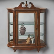 Butler Masterpiece Wall-Mounted Curio Cabinet