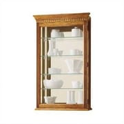 Howard Miller Montreal Wall-Mounted Curio Cabinet