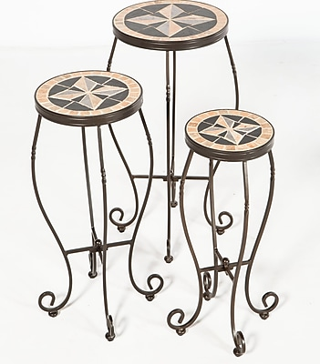 Alfresco Home Formia 3 Piece Plant Stand