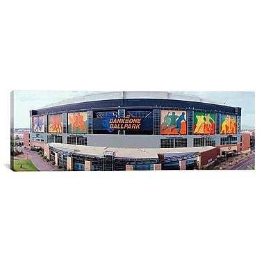 iCanvas Panoramic Bank One Ballpark Phoenix, Arizona Photographic Print on Canvas