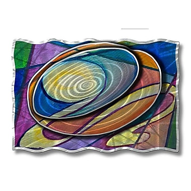 All My Walls 'Radiating Ripples' by Ash Carl Graphic Art Plaque