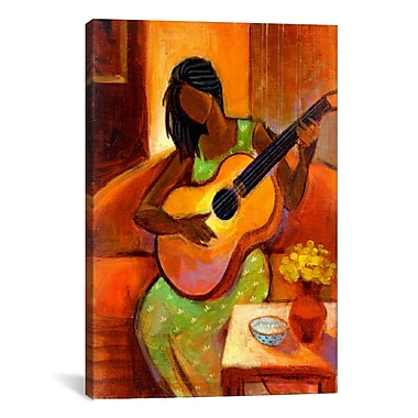 iCanvas ''Ballad'' by Keith Mallett Painting Print on Canvas; 26'' H x 18'' W x 0.75'' D