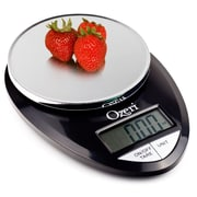 Ozeri Pro Digital Kitchen Food Scale, 0.05 oz to 12 lbs (1 gram to 5.4 kg); Black