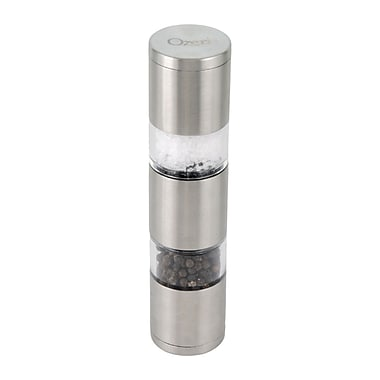 Ozeri Fresko Stainless-Steel Salt and Pepper Mill and Grinder