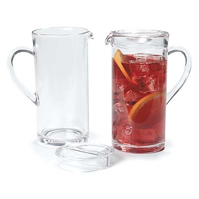 Carlisle 58 oz Elan Pitcher, Clear