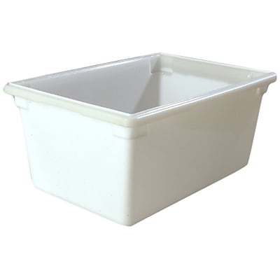 Carlisle 1064302, 16.6 gal 18'' x 26'' x 12'' PE StorPlus Box, White