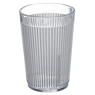 Carlisle 8 oz Crystalon Stack-All SAN Tumbler, Clear 450695