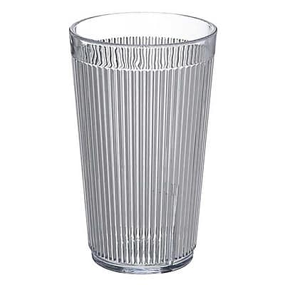 Carlisle 12 oz Crystalon® Stack-All® SAN Tumbler, Clear