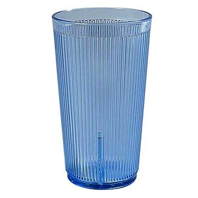 Carlisle 20 oz Crystalon Stack-All SAN Tumbler, Blue 450669