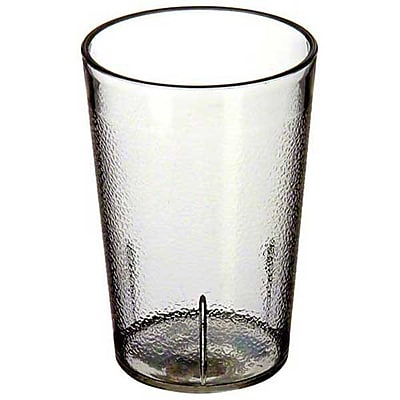 Carlisle 552607, 8 oz SAN Stackable Tumbler, Clear