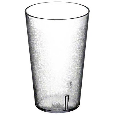 Carlisle 553207, 32 oz SAN Stackable™ Tumbler, 48/Pack, Clear