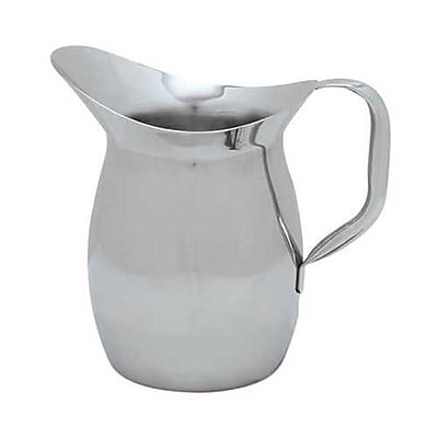 Carlisle 2 qt Stainless Steel Bell Pitcher