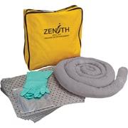 Zenith Safety 5-Gallon Economy Spill Kits, Universal, With Nylon Bag